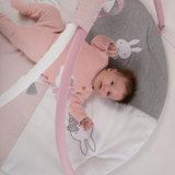 Nijntje pink baby rib Speelkleed met boog_