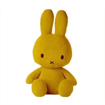 Nijntje corduroy geel 23 cm