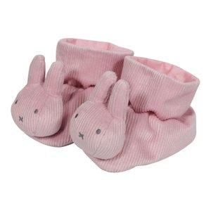 Boxpantoffels Nijntje pink baby rib