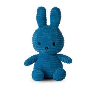 Nijntje corduroy midden blauw 23 cm